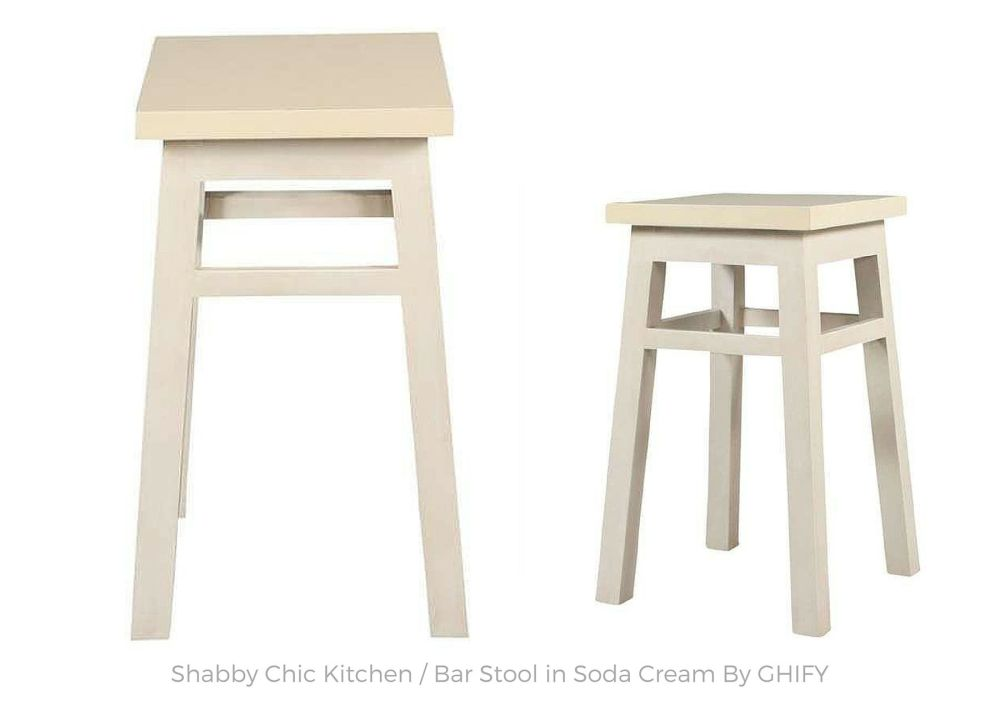 Shabby Chic Kitchen Bar Stool
