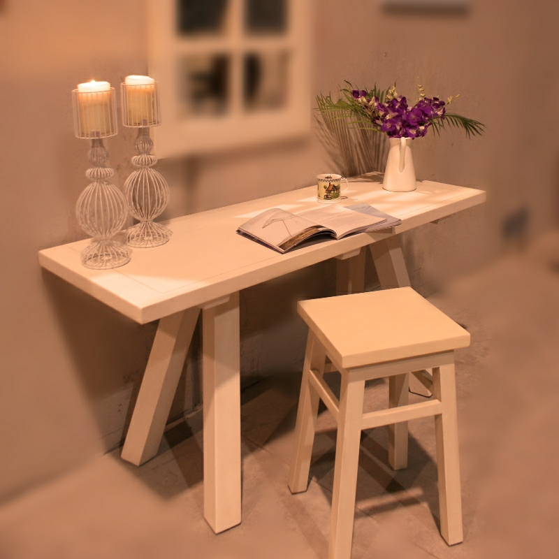 Trestle Table and Stool