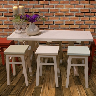 Trestle Table and Stools from www.ghify.com