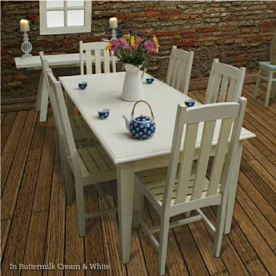 Shabby Chic Dining Table Setting from www.ghify.com