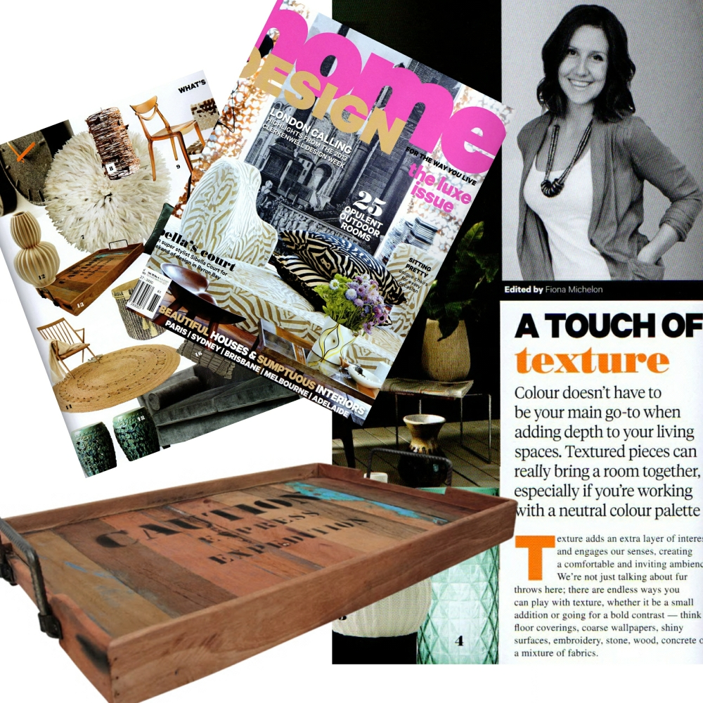 Featured in Home Design Magazine