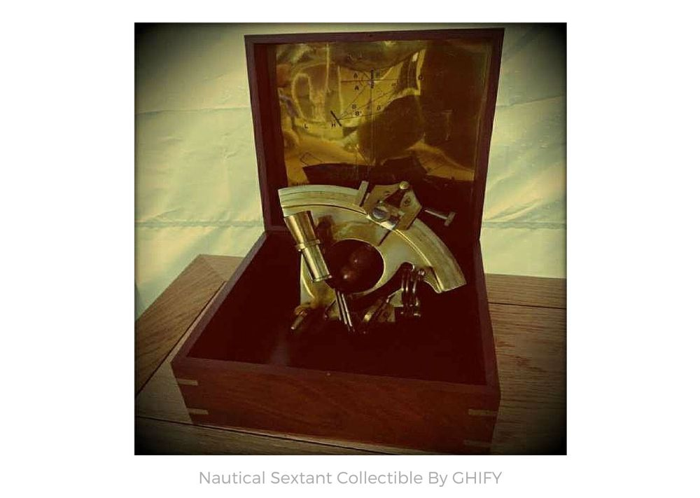 Nautical Sextant Collectible by Ghify