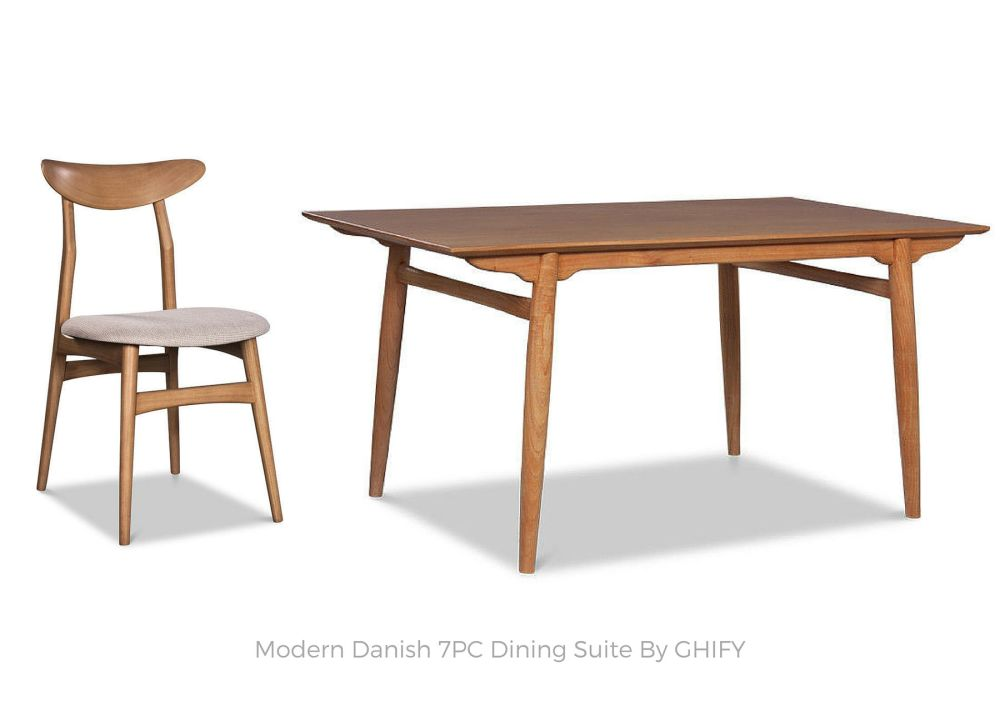 Modern Danish 7PC Suite by Ghify