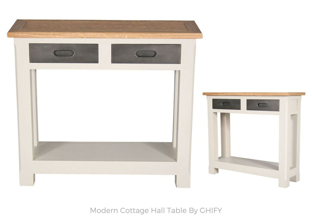 Modern Cottage Hall Table by Ghify