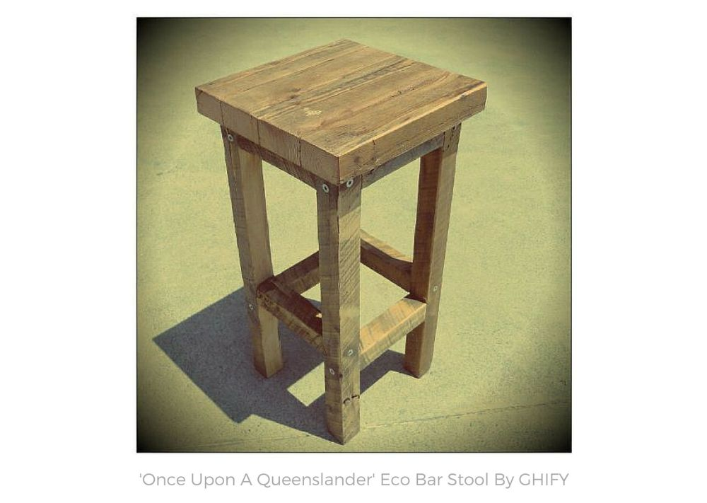 'Once Upon A Queenslander' Eco Bar Stools by Ghify