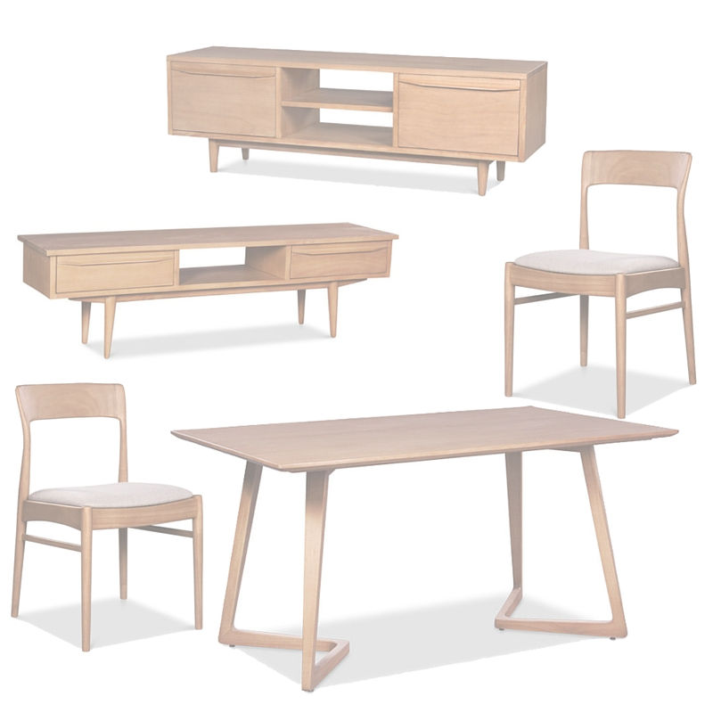 Modern Danish Furniture Collection by Ghify