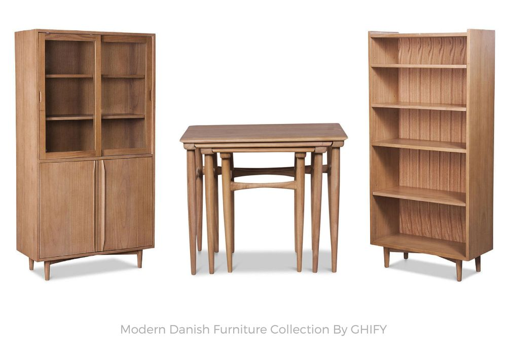 Modern Danish Furniture by Ghify