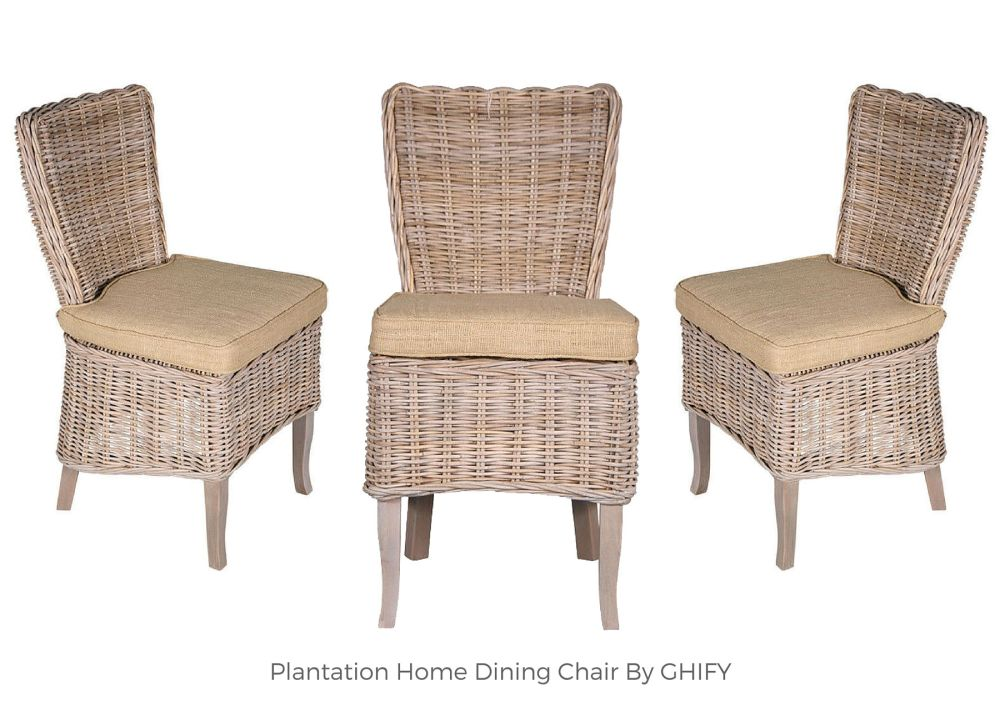 Plantation Home Dining Chairs by Ghify