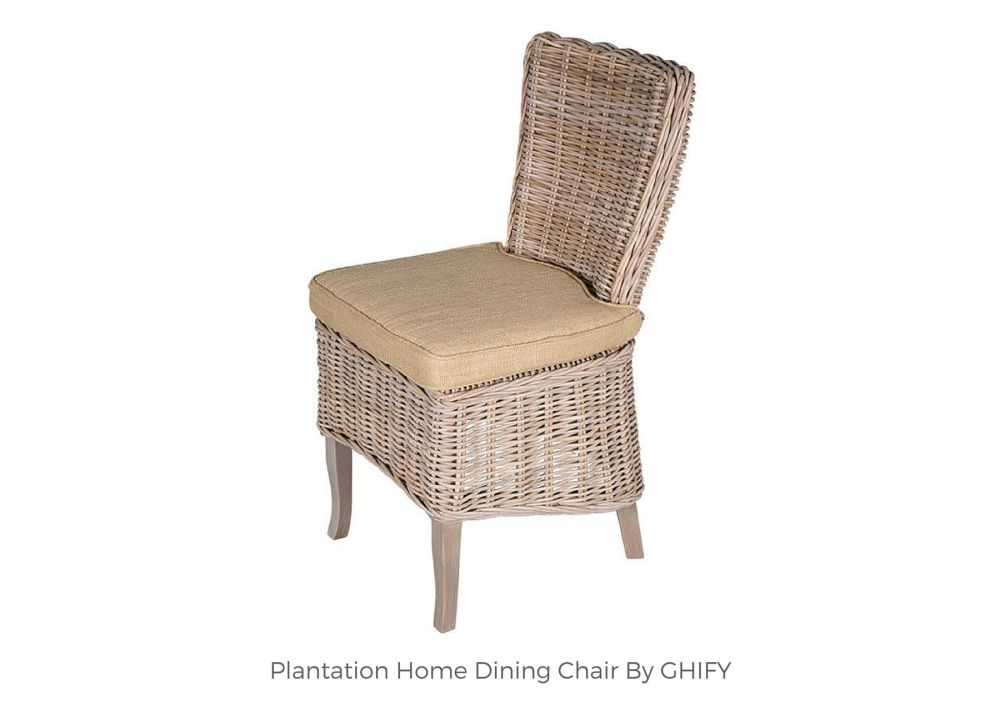 Plantation Home Dining Chair by Ghify