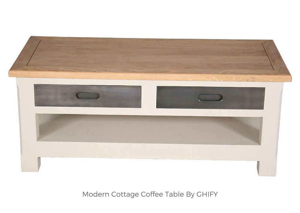Modern Cottage Coffee Table by Ghify