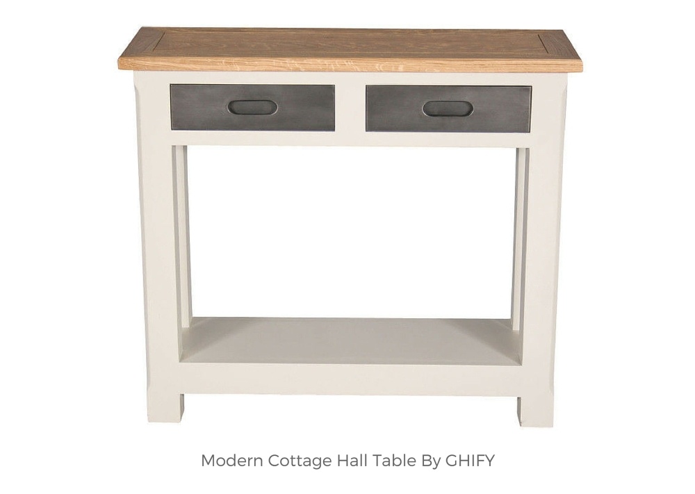 Modern Cottage Hall Table