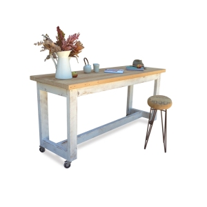 Handmade Solid Timber Eco Recycled Kitchen Island