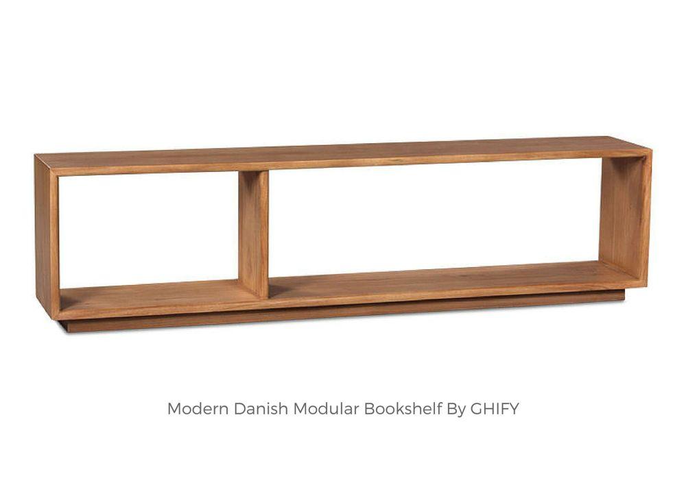 Modern Danish Modular Bookshelf
